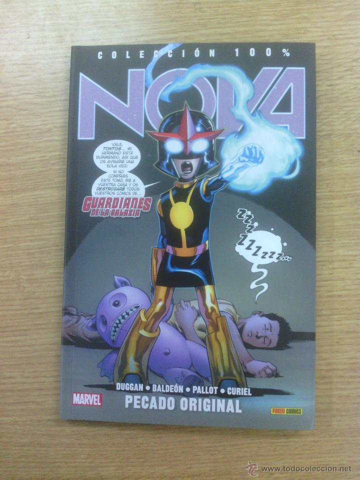 NOVA #4 PECADO ORIGINAL (100% MARVEL) (Tebeos y Comics - Panini - Marvel Comic)