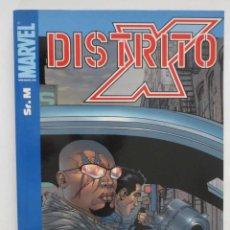 Cómics: DISTRITO X SR. M. Lote 49954172