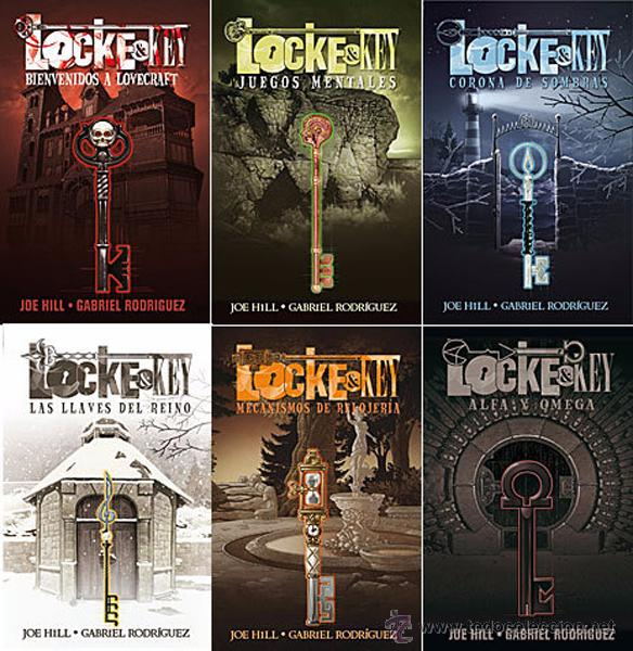 Locke Key 6 Tomos Completa Joe Hill Y Gabr Sold Through Direct Sale 50166848