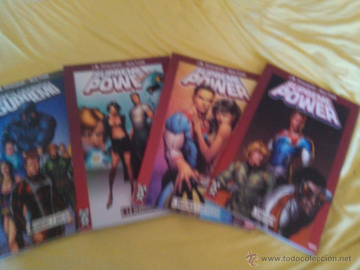 LOTE SUPREME POWER TOMOS 1 2 Y 3 + ESQUADRON SUPREMO TOMO 1 - JM STRACZYNKI Y GARY FRANK (Tebeos y Comics - Panini - Marvel Comic)