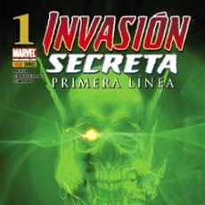 Cómics: INVASION SECRETA PRIMERA LÍNEA AVENTURA COMPLETA DE 5 CÓMICS DEL Nº 1 AL Nº 5 PANINI COMICS - MARVEL. Lote 51260343