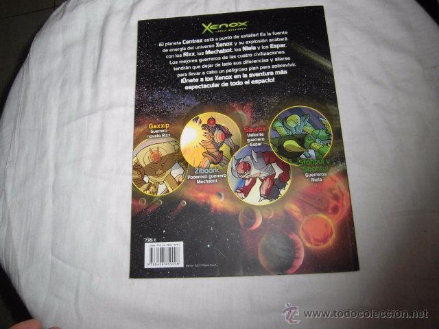 Cómics: XENOX SPACE WARRIORS.CRISIS EN CENTRAX.PANINI COMICS 2011 - Foto 5 - 51476796