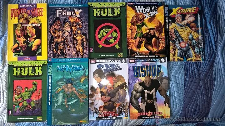 LOTE DE COMICS VARIADOS MUTANTES (Tebeos y Comics - Panini - Marvel Comic)