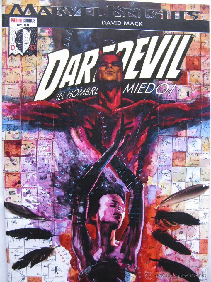 Cómics: MARVEL KNIGHTS (En negro). DAREDEVIL. NROS. 57 AL 70. PANINI COMICS. (COMO NUEVOS). - Foto 2 - 51630464
