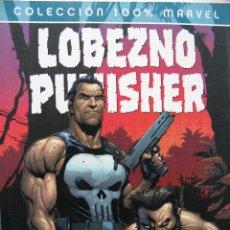 Cómics: COLECCION 100% MARVEL. LOBEZNO PUNISHER. 1. EL SANTUARIO DEL MAL. PANINI (NUEVO). Lote 51660962