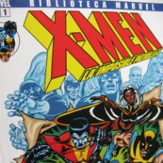 Cómics: X-MEN. BIBLIOTECA MARVEL. PANINI COMICS. NROS. 1 AL 6. (NUEVOS). Lote 51693503