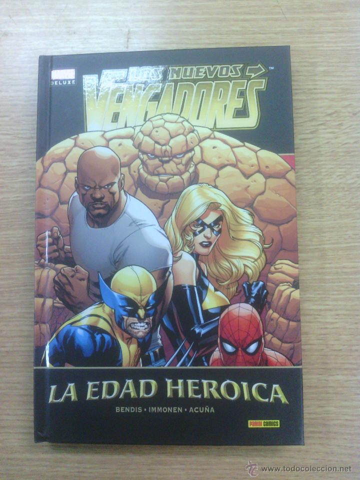 NUEVOS VENGADORES #14 LA EDAD HEROICA (MARVEL DELUXE) (Tebeos y Comics - Panini - Marvel Comic)