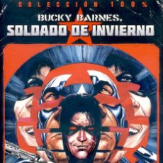 Cómics: 100% MARVEL BUCKY BARNES EL SOLDADO DE INVIERNO - TOMO PANINI KNOT RUDY. Lote 80644862