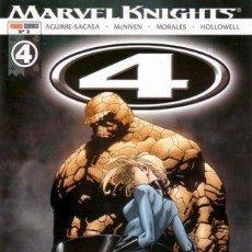 Cómics: LOS 4 FANTASTICOS: MARVEL KNIGHTS LOTE DE 4 Nº (3-4-5-6). Lote 52708525