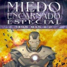 Cómics: MIEDO ENCARNADO ESPECIAL IRON MAN 2.0. - MÁQUINA DE GUERRA - TOMO PANINI - NICK SPENCER OLIVETTI. Lote 52736087