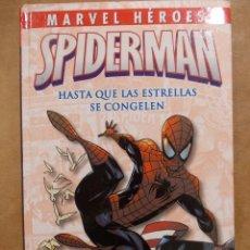 Cómics: MARVEL HEROES-SPIDERMAN-HASTA QUE LAS ESTRELLAS SE CONGELEN-PANINI MARVEL-TAPA DURA-NUEVO. Lote 70436587