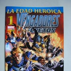 Cómics: LOS VENGADORES SECRETOS. LA EDAD HEROICA Nº1 MARVEL. PANINI COMICS. BRUBAKER. DEODATO. BEREDO. Lote 52956824