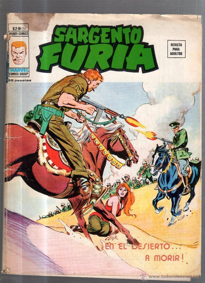 SARGENTO FURIA. V.2 - Nº 26. MARVEL COMICS GROUP. EN EL DESIERTO... A MORIR (Tebeos y Comics - Panini - Marvel Comic)
