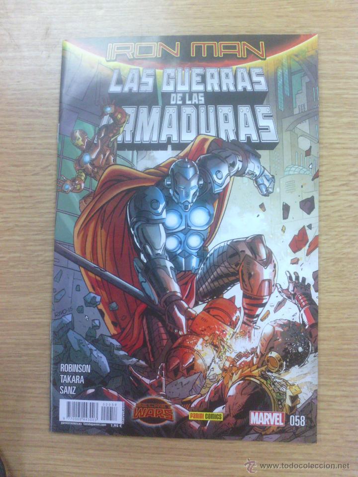 IRON MAN VOL 2 #58 - LA GUERRA DE LAS ARMADURAS #2 (SECRET WARS) (Tebeos y Comics - Panini - Marvel Comic)