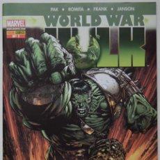 Cómics: WORLD WAR HULK. MARVEL. PANINI COMICS, Nº 1. PAK, ROMITA, FRANK, JANSON. Lote 53203243