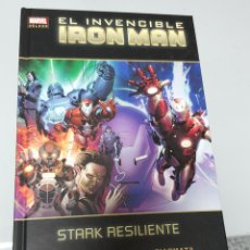 Cómics: EL INVENCIBLE IRON MAN Nº 4 : STARK RESILIENTE ¡ ONE SHOT 264 PAGINAS ! MARVEL DELUXE PANINI. Lote 53235350