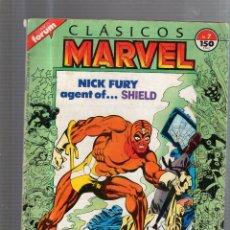 Cómics: CLASICOS MARVEL. NICK FURY AGENT OF... SHIELD. Nº 7. . Lote 53311158