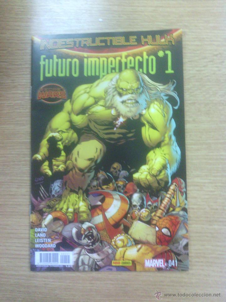 INCREIBLE HULK #41 - INDESTRUCTIBLE HULK #32 FUTURO IMPERFECTO #1 (SECRET WARS) (Tebeos y Comics - Panini - Marvel Comic)