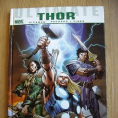 Cómics: ULTIMATE THOR. HICKMAN. PACHECO. VINES. MARVEL GRAPHIC NOVELS. PANINI. Lote 53357008