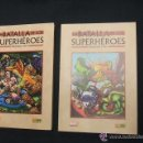 Cómics: LA BATALLA DE LOS SUPERHEROES COMPLETA EN 2 TOMOS NUEVOS. Lote 53379127