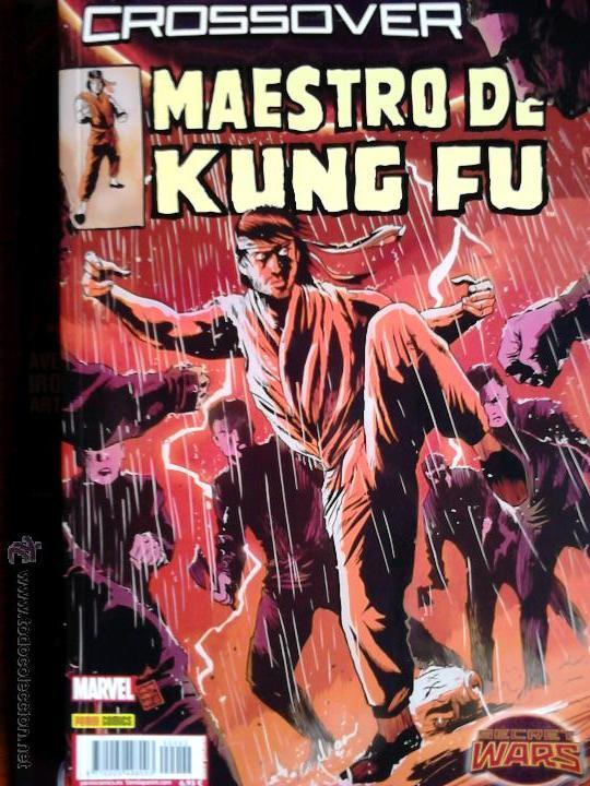 CROSSOVER MAESTRO DE KUNG-FU (SHANG-CHI) (Tebeos y Comics - Panini - Marvel Comic)