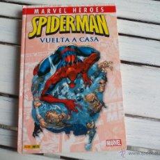 Cómics: SPIDERMAN. VUELTA A CASA. MARVEL HÉROES 1. 192 PÁGINAS, TAPA DURA. PANINI COMICS. Lote 53443567