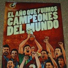 Cómics: EL AÑO QUE FUIMOS CAMPEONES DEL MUNDO- 2010 PANINI COMIC - PRECINTADO ORIGINAL - IMPECABLE. Lote 53461859