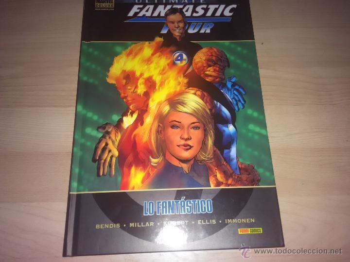 COMIC LOS 4 FANTÁSTICOS - ULTIMATE FANTASTIC FOUR: LO FANTÁSTICO - EDICIÓN MARVEL DELUXE (Tebeos y Comics - Panini - Marvel Comic)