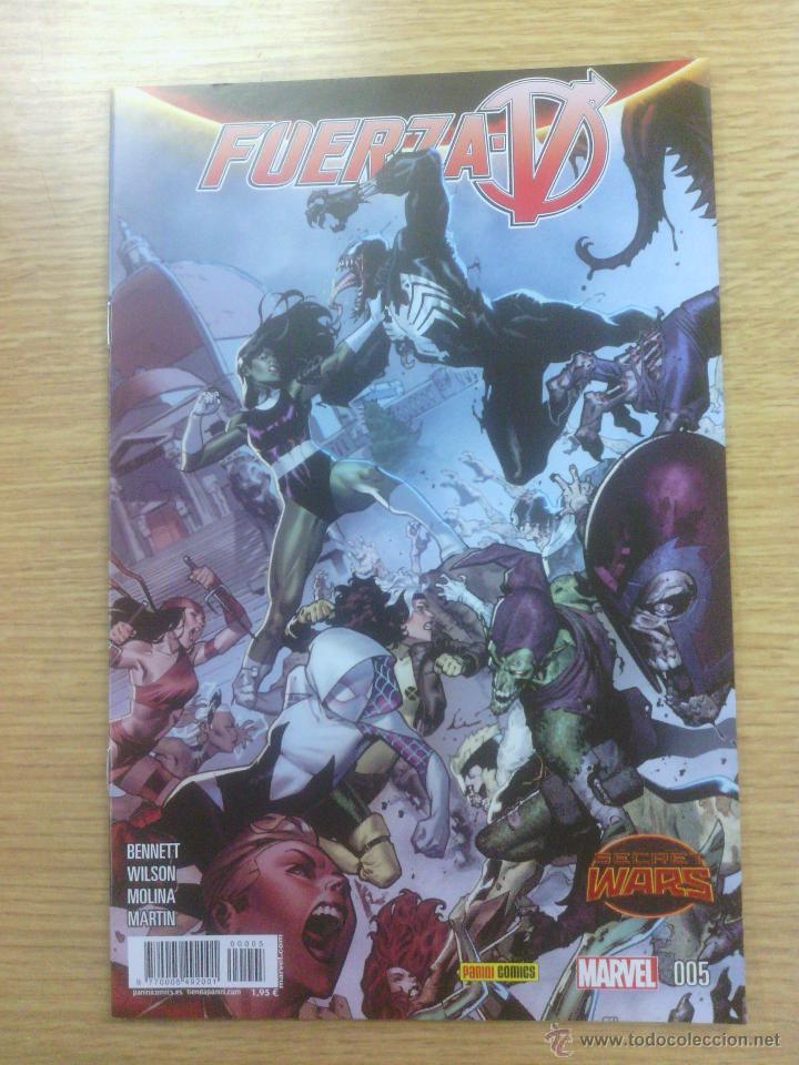 FUERZA V #5 (SECRET WARS) (Tebeos y Comics - Panini - Marvel Comic)