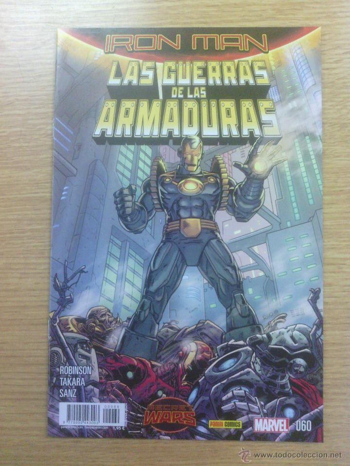 IRON MAN VOL 2 #60 - LA GUERRA DE LAS ARMADURAS #4 (SECRET WARS) (Tebeos y Comics - Panini - Marvel Comic)