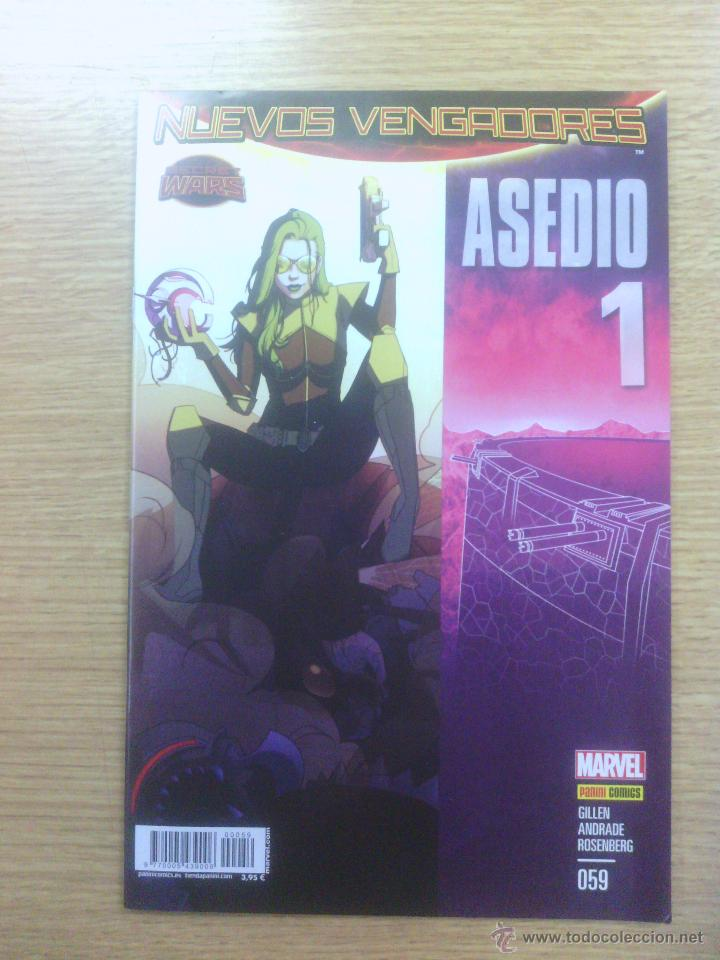 NUEVOS VENGADORES VOL 2 #59 ASEDIO #1 (SECRET WARS) (Tebeos y Comics - Panini - Marvel Comic)