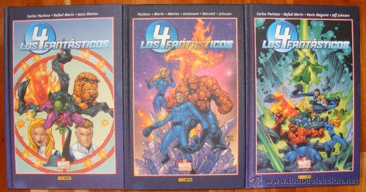 MARVEL ESSENTIALS: LOS 4 FANTÁSTICOS - CARLOS PACHECO - 3 TOMOS (COMPLETO) PANINI (Tebeos y Comics - Panini - Marvel Comic)