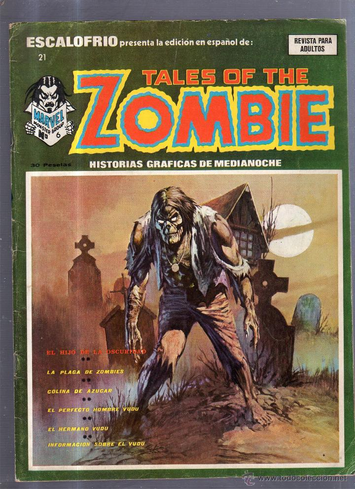 TEBEO TALES OF THE ZOMBIE. Nº 6. MARVEL MONSTER GROUP (Tebeos y Comics - Panini - Marvel Comic)