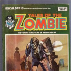 Cómics: TEBEO TALES OF THE ZOMBIE. Nº 6. MARVEL MONSTER GROUP. Lote 54361283