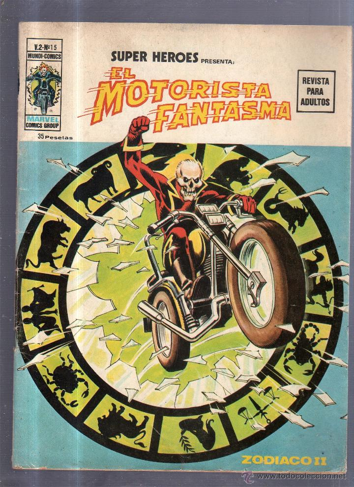 Cómics: EL MOTORISTA FANTASMA. V.2 - Nº 15. MARVEL COMICS GROUP - Foto 1 - 54384748