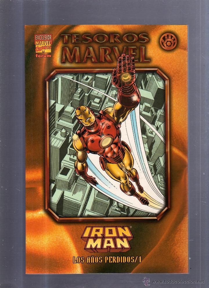 TEBEO TESOROS MARVEL. IRON MAN. LOS AÑOS PERDIDOS / 1. EXCELSIOR MARVEL COMICS (Tebeos y Comics - Panini - Marvel Comic)