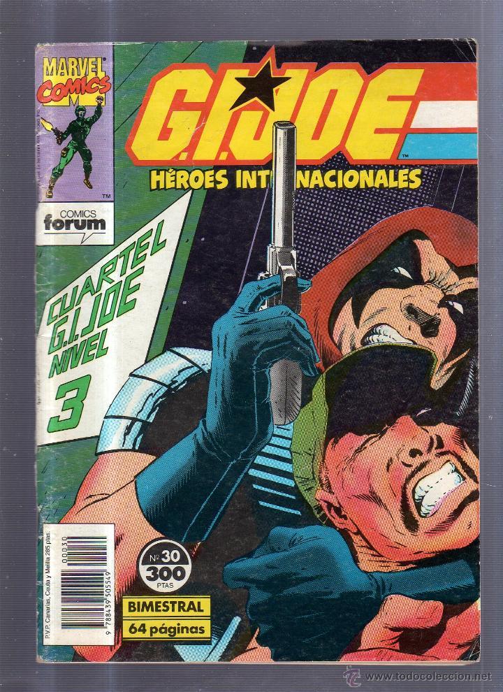 TEBEO G.I.JOE. HEROES INTERNACIONALES. MARVEL COMICS. Nº 30 (Tebeos y Comics - Panini - Marvel Comic)