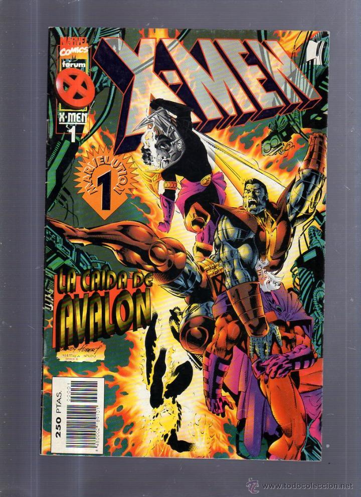 TEBEO X-MEN. Nº 1. LA CAIDA DE AVALON. MARVEL COMICS (Tebeos y Comics - Panini - Marvel Comic)