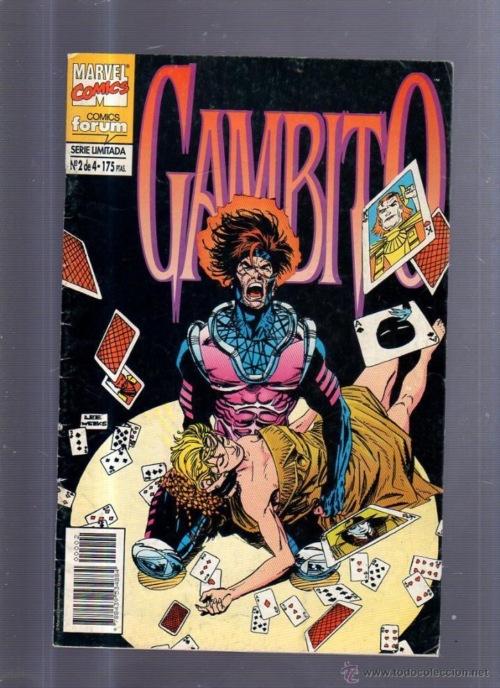 TEBEO GAMBITO. Nº 2 DE 4. SERIE LIMITADA. MARVEL COMICS (Tebeos y Comics - Panini - Marvel Comic)