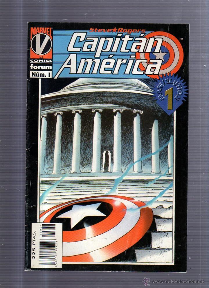 TEBEO CAPITAN AMERICA. Nº 1. STEVE ROGERS. MARVEL (Tebeos y Comics - Panini - Marvel Comic)