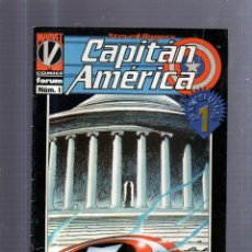 Cómics: TEBEO CAPITAN AMERICA. Nº 1. STEVE ROGERS. MARVEL. Lote 54815159