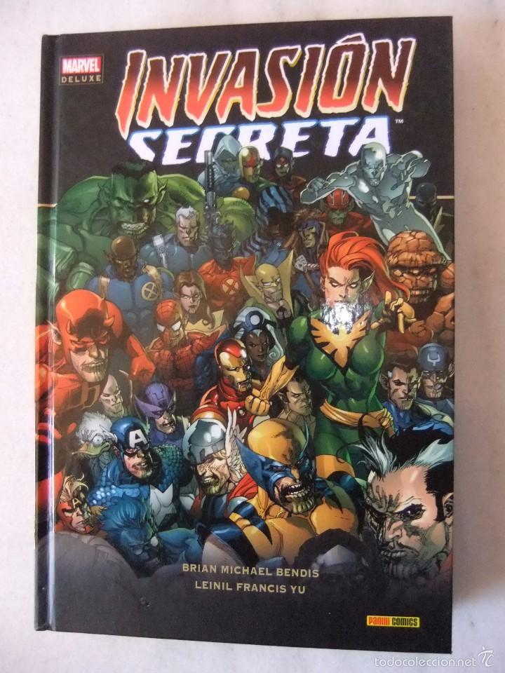 MARVEL DE LUXE INVASION SECRETA PANINI COMICS INTEGRAL (Tebeos y Comics - Panini - Marvel Comic)
