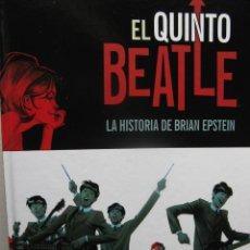 Cómics: EL QUINTO BEATLE. LA HISTORIA DE BRIAN EPSTEIN. VIVEX J. TIWARY. ANDREW C. ROBINSON CON KYLE BAKER. . Lote 55409881