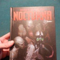 Cómics: NOCTURNA - VOLUMEN 1 - GUILLERMO DEL TORO & CHUCK HOGAN - COMIC - PANINI - TAPA DURA. Lote 56093023