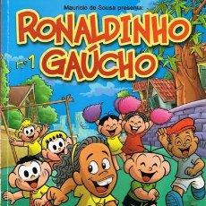 Cómics: CÓMIC RONALDINHO GAÚCHO Nº 1. Lote 56236793
