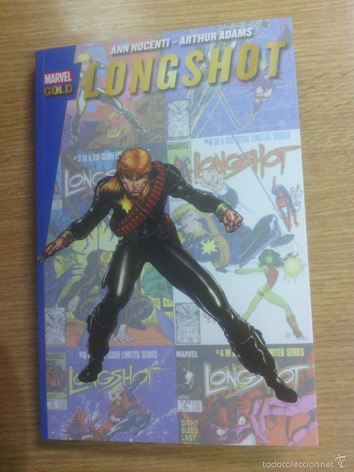 LONGSHOT (MARVEL GOLD) (Tebeos y Comics - Panini - Marvel Comic)