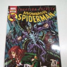 Cómics: COMIC ASOMBROSO SPIDERMAN . INVASION SECRETA . MARVEL. Lote 56257446