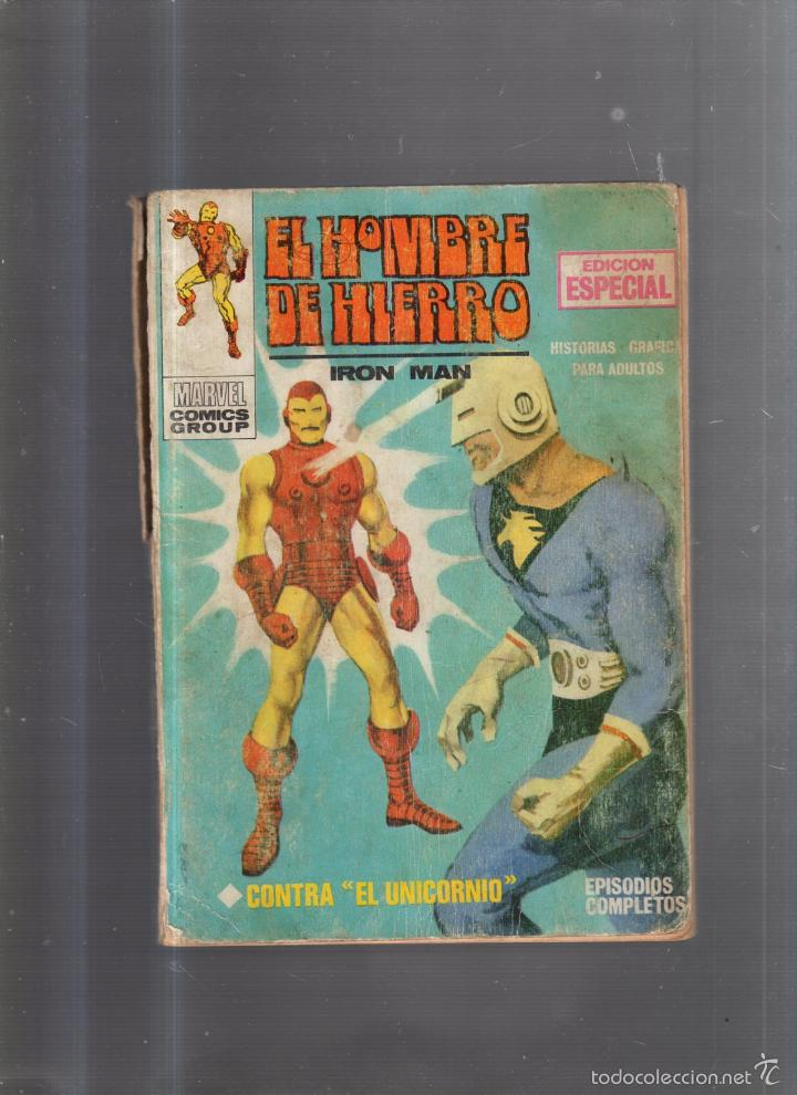 TEBEO EL HOMBRE DE HIERRO. Nº 2. EDICION ESPECIAL. CONTRA EL UNICORNIO (Tebeos y Comics - Panini - Marvel Comic)