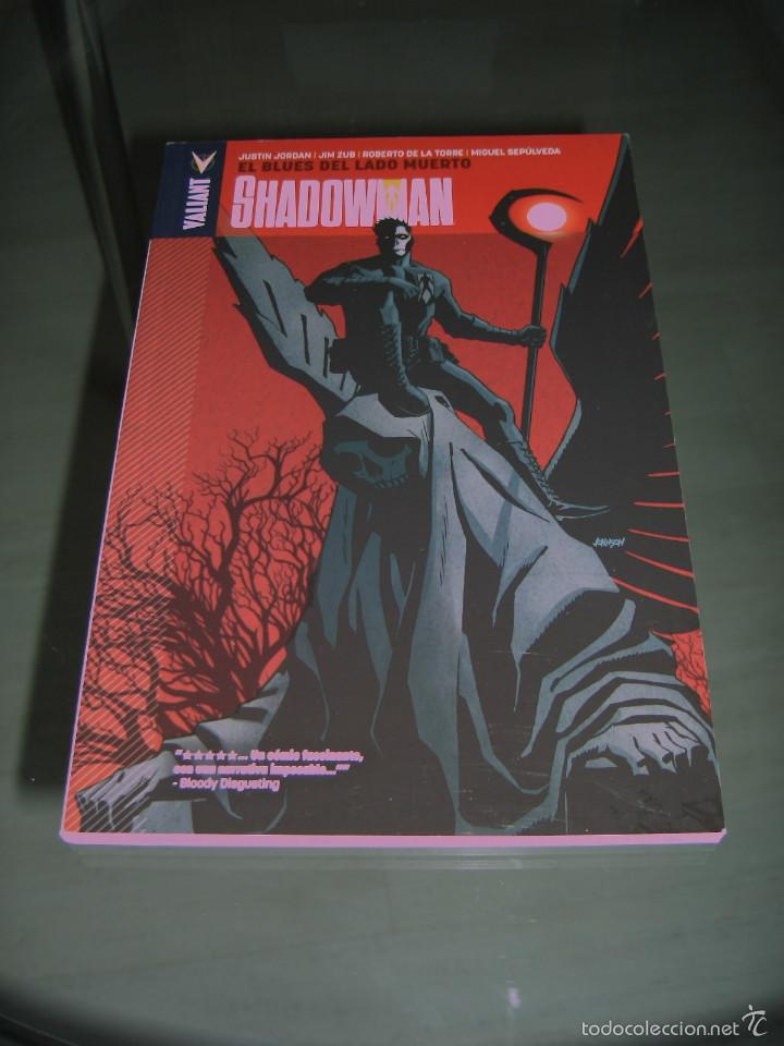 SHADOWMAN Nº 3 - VALIANT - ALETA - JUSTIN JORDAN (Tebeos y Comics - Panini - Marvel Comic)