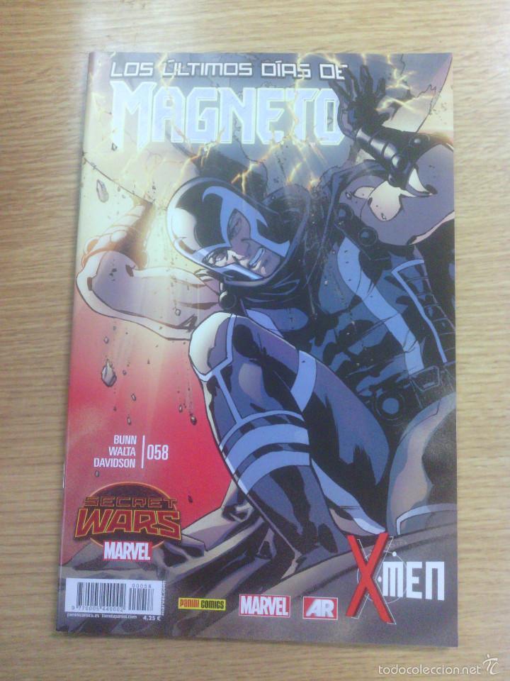 X-MEN VOL 4 #58 - MAGNETO #6 (Tebeos y Comics - Panini - Marvel Comic)